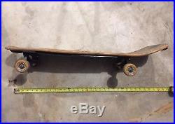 Rare Santa Cruz Jeff Kendall Dust To Dust Snake Skateboard Deck Vintage 1980s