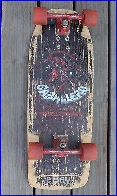 Rare Vintage 1981 Steve Caballero Powell Peralta Skateboard Complete Old School