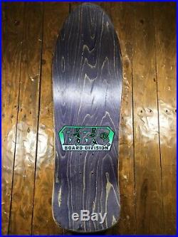 Rare Vintage 1989 Jason Parkes Tribesman Witch Doc' BBC BAD BOY CLUB Skateboard