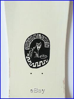 Rare Vintage 1990 Gordon And Smith G&S Neil Blender PigCat Whitedip Skateboard