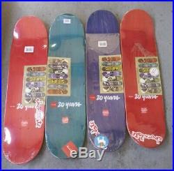 Rare Vintage 20 Years Evan Hecox Chocolate Tree house skateboard Series NOS Girl