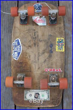 Rare Vintage Blazer Wide Track Double Truck & Wheel Complete Skateboard Deck Pro