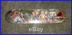 Rare Vintage Caine Gayle Signed 90s Prime NOS skateboard Everslick Slick Plan B