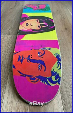 Rare Vintage Jan Waage Brenda 1993 Powell Peralta skateboard Everslick Slick