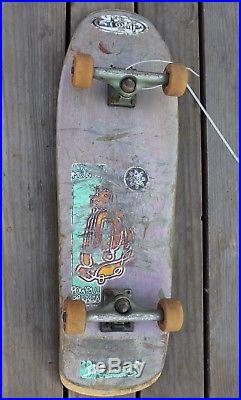 Rare Vintage Ken Parker Vision Skateboard Deck Skate Board Old School Skating