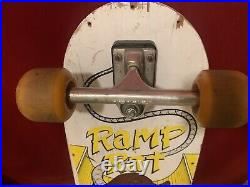 Rare Vintage Variflex Ramp Rat Skateboard, Street Rage Wheels Cloud Bushings
