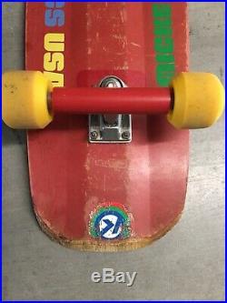 Rare vintage Kriptonics Micke Alba Skateboard