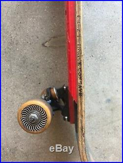 Rob Roskopp Target Eye Vintage Santa Cruz Skateboard Complete With Deck & Wheels