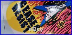 Rodney Mullen Cease And Desist C&D Rock is King Skateboard #71/75 Rare HTF