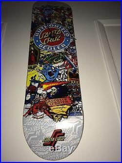 SANTA CRUZ Vintage Skateboard Logo Clock ROSKOPP GROSSO ALBA Dogtown Powell NOS