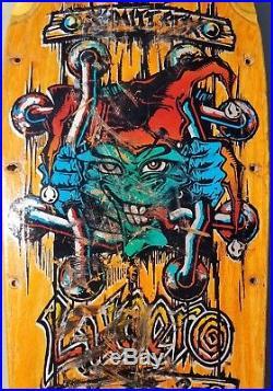 SCHMITT STIX JOHN LUCERO X2 SKATEBOARD DECK vintage rare og vision madrid powell