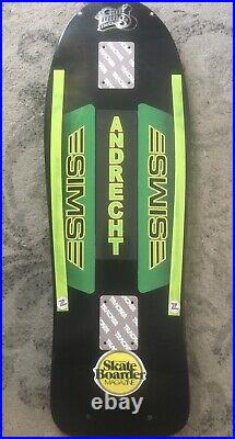 SIMS ANDRECHT -Tribute Rider Skateboard WithPlastic