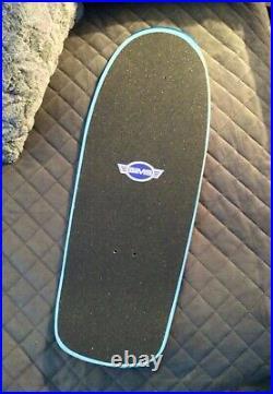 SIMS Brad Bowman Classic Hand-made Tribute skateboard (BLUE) Dogtown Alva