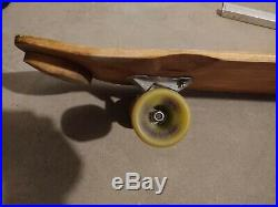 ÷SIMS÷ LONNIE TOFT VINTAGE SKATEBOARD 30x10 WITH SNAKE CONICAL AND LAZER TRUCKS
