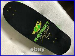 SIMS Skateboard Andrecht H-Street Tracker Powell Peralta Steve Olson PIG Vintage