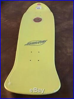 Santa Cruz Keith Meek Slasher Reissue Skateboard 10.1 In X 31.13 In