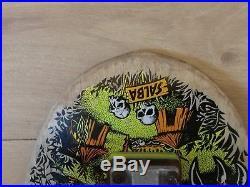 Santa Cruz Salba Tiger Skateboard Deck Vintage