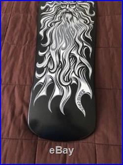 Santa Cruz Skateboards Jason Jessee Sungod Skateboard Deck- Ashes To Ashes