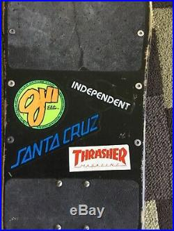 Santa Cruz Skateboards Rob Roskopp 3 Complete 1980s