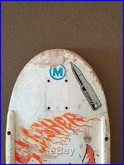 Santa Cruz Slasher Vintage Skateboard Deck Roskopp