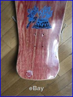 Santa Cruz Steve Alba Tiger Vintage Nos Skateboard Roskopp Jason Kendal Conroy