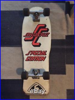 Santa Cruz Team Deck Factory Complete Vintage Skateboard