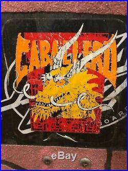 Santa Cruz Toyoda skateboard vintage Jim Phillips, Caballero, Hawk, Roskopp 1988