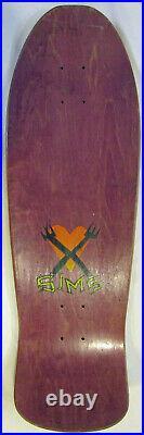 Sims Henry Gutierrez 1989 Pro Model Skateboard Fork Crew VB never skated NEW