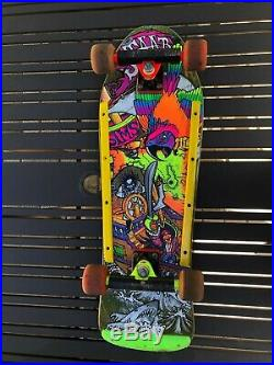 Sims Kevin Staab Skateboard Gullwing Trucks OJ II wheels Rib Bones Tail Bone 80s