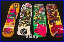 Skateboard Deck Lot World Industries Rocco III Santa Cruz Alice Street Plant Bar