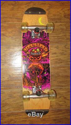 Skateboard TRACKER Jean Marc complete freestyle rodney mullen deck flatland frog
