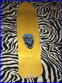 Skateboard deck Claus Grabke Santa Cruz Melting Clocks