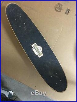 Stacy Peralta G&S Warptail Skateboard 1970 All Original
