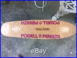 Stacy Peralta Powell Peralta vintage skateboard alva sims dogtown