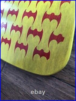 Steve Caballero Skateboard 87 Powell Peralta Yellow bats dragon deck