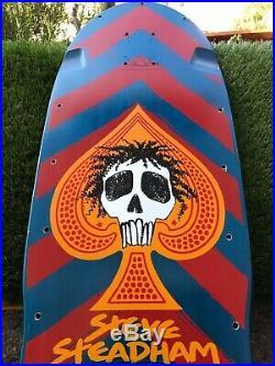 Steve Steadham nos vintage skateboard Powell Peralta Santa Cruz G&S Alva Zflex