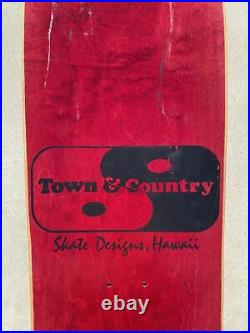 T&C PRIMAL URGES SKATEBOARD vintage rare town and country santa cruz powell g&s