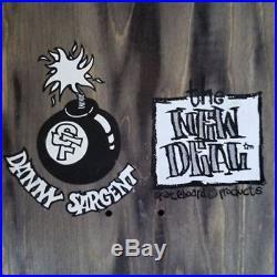 The New Deal Danny Sargent Monkey Bomb OG NOS Skateboard Deck