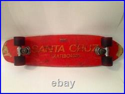 The first Santa Cruz skateboard