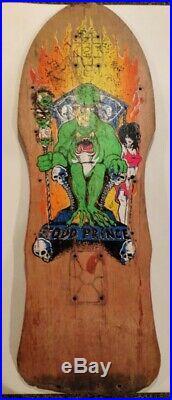 Todd Prince Frog Zorlac 1988 Skateboard Deck 28 X 10 Vintage RARE