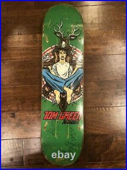 Tom Green Birdhouse Skateboard Deck Signed