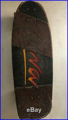 Tony Alva Vintage'70's Skateboard from 1978 Tracker trucks Simms Comp 2 wheels