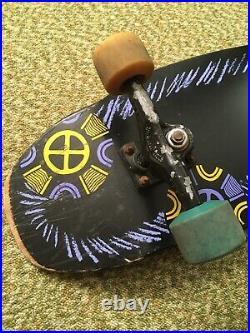 Tony Hawk Medallion Skateboard Powell Peralta 1988 Gullwing Trucks Bones Wheels