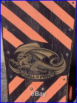Tony Hawk Powell Peralta 1983 Original Chicken Skull Skateboard Vintage 1980s