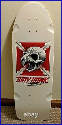 Tony Hawk Powell Peralta Bones Brigade Skateboard Deck Series 1 Reissue White