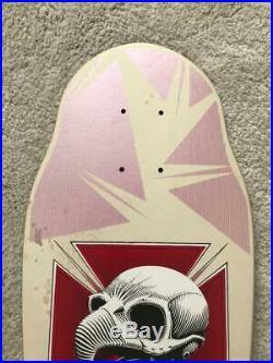 Tony Hawk Powell Peralta Chicken Skull Skateboard Deck XT Mini OG