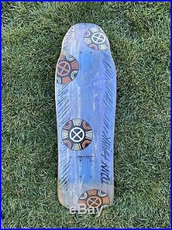 Tony Hawk Skateboard Medallion Full size by Powell Peralta