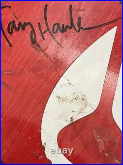 Tony Hawks Personal Bloody Skateboard, Stained In His Own Blood And Signed