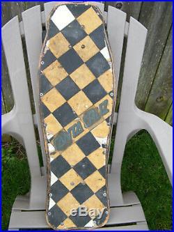 True Vintage 80's Hosoi Hammerhead II Skateboard Complete Indy's & Sims 63's HTF