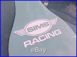 Turner Summerski Sims Racing slalom skateboard deck unused NOS